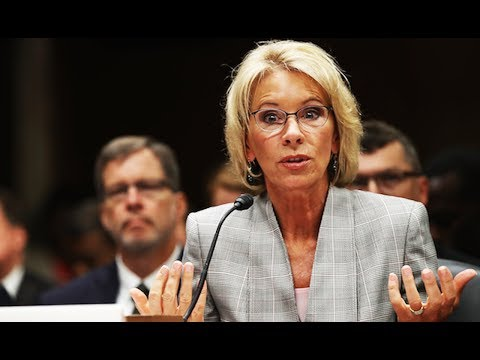 Betsy DeVos Wants To Know What MRA's Think About Rape Policy