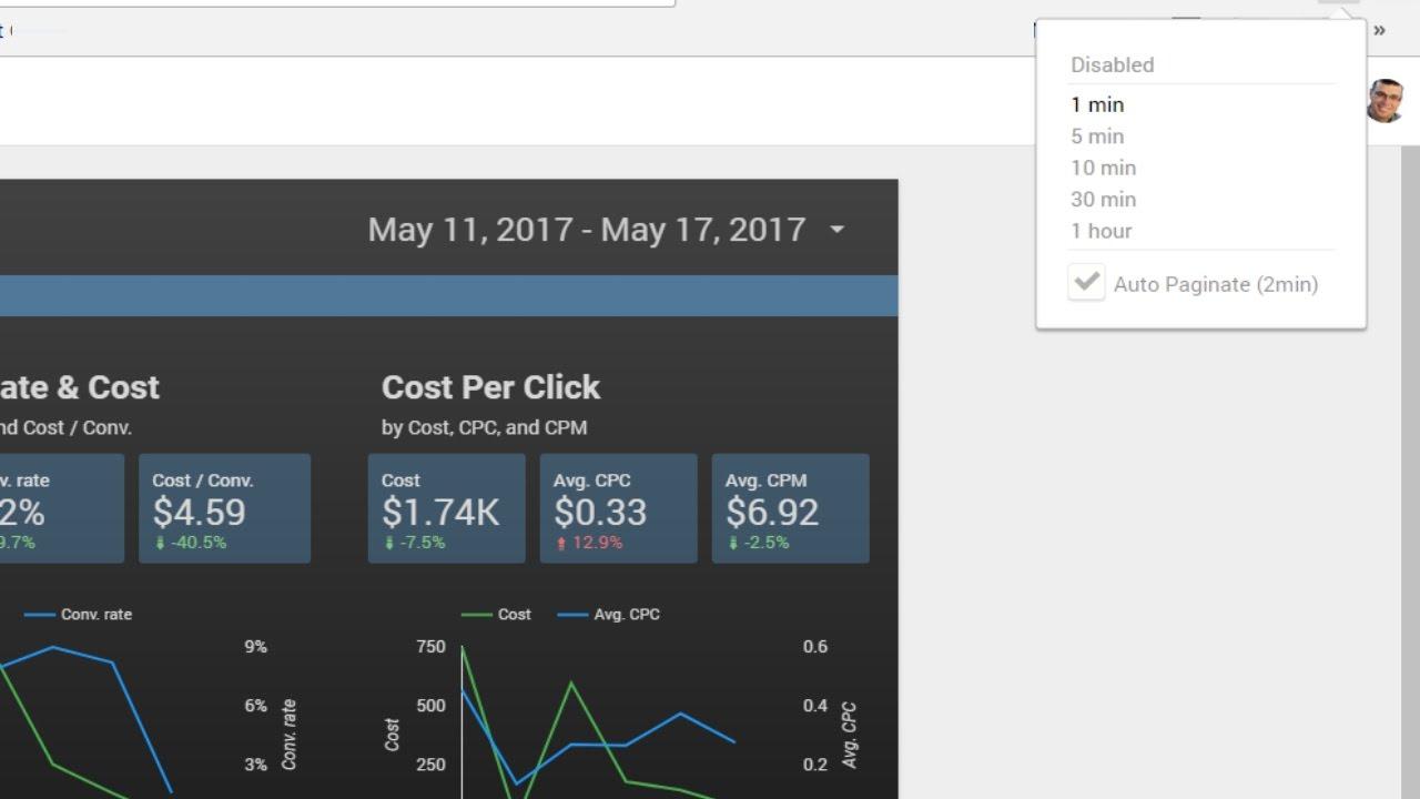Google Data Studio Auto Refresh Solution (Chrome Extension)