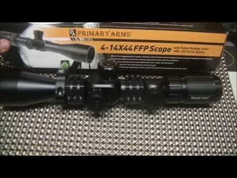 Primary Arms 4-14x FFP ACSS Scope Overview