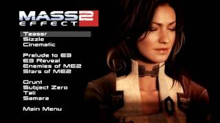 Mass Effect 2 Bonus Disc Menu track