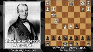 Best Chess Games of all Time - Alexander Petrov