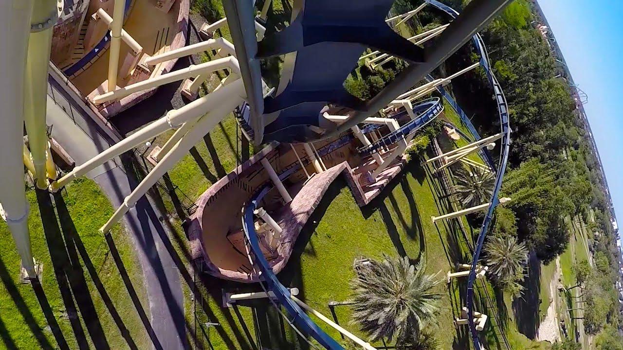 Montu roller coaster pov 60fps busch gardens tampa 2015 - Roller coasters at busch gardens ...