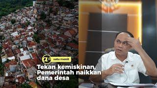 Tekan kemiskinan, Pemerintah naikkan dana desa