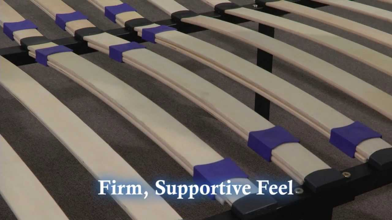 Platform Frame with Slats - YouTube