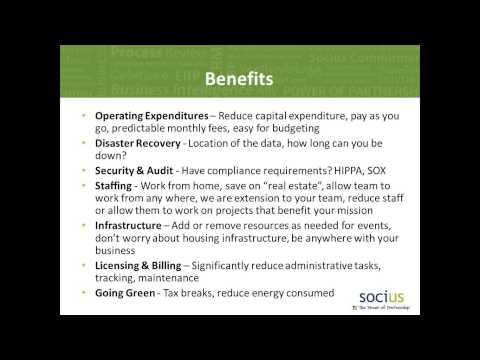 What is Cloud Services - How Can it Benefit Your Not for Profit Organization