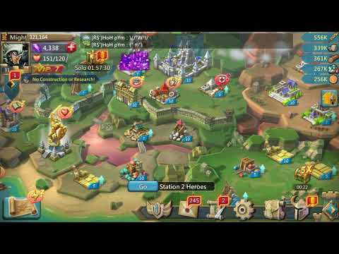 Lords Mobile - How To Reach Castle Level 14