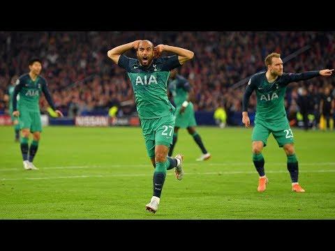 Lucas Moura (Tottenham) Champions League HAT-TRICK vs. Ajax   INSANE COMEBACK!