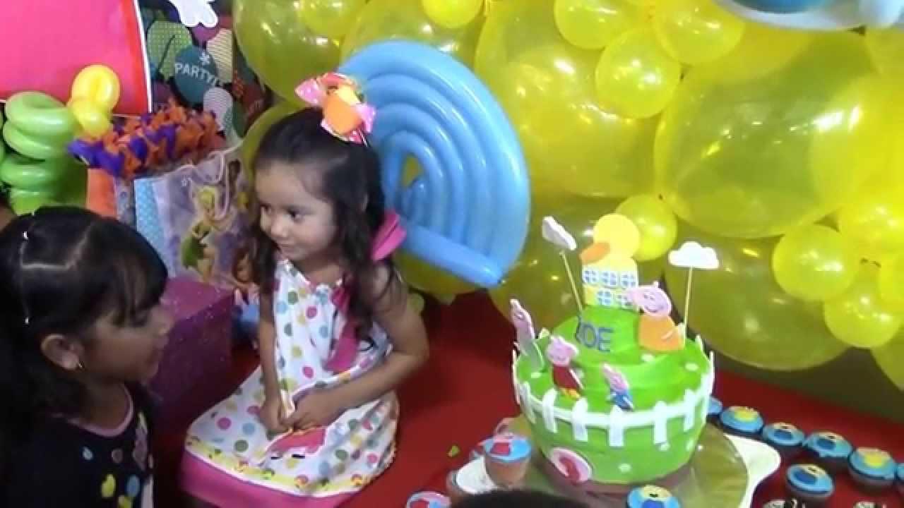 Zoe guerra cumplea os de una ni a de 3 a os youtube - Ideas para cumpleanos 2 anos ...
