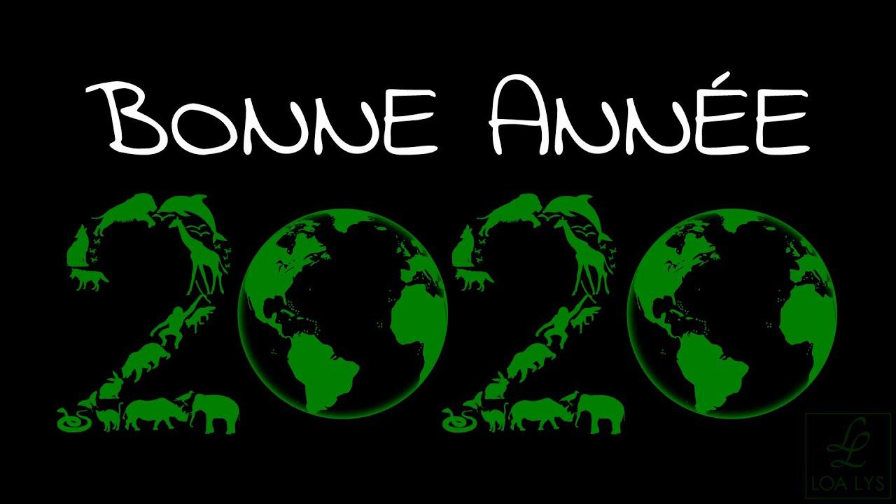 carte virtuelle voeux 2020 Bonne année 2020   Carte de vœux virtuelle 2020   planète