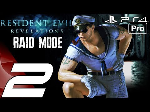 Resident Evil Revelations - Raid Mode Walkthrough Part 2 - Chasm Boss Fights (PS4 PRO) Remastered