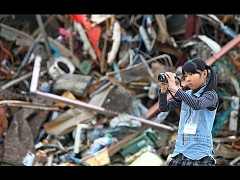 Children photograph recovery from disaster in Japan