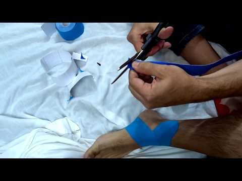 Kinesio Taping for Ankle Sprain Recovery and Protection | Northern Soul channel