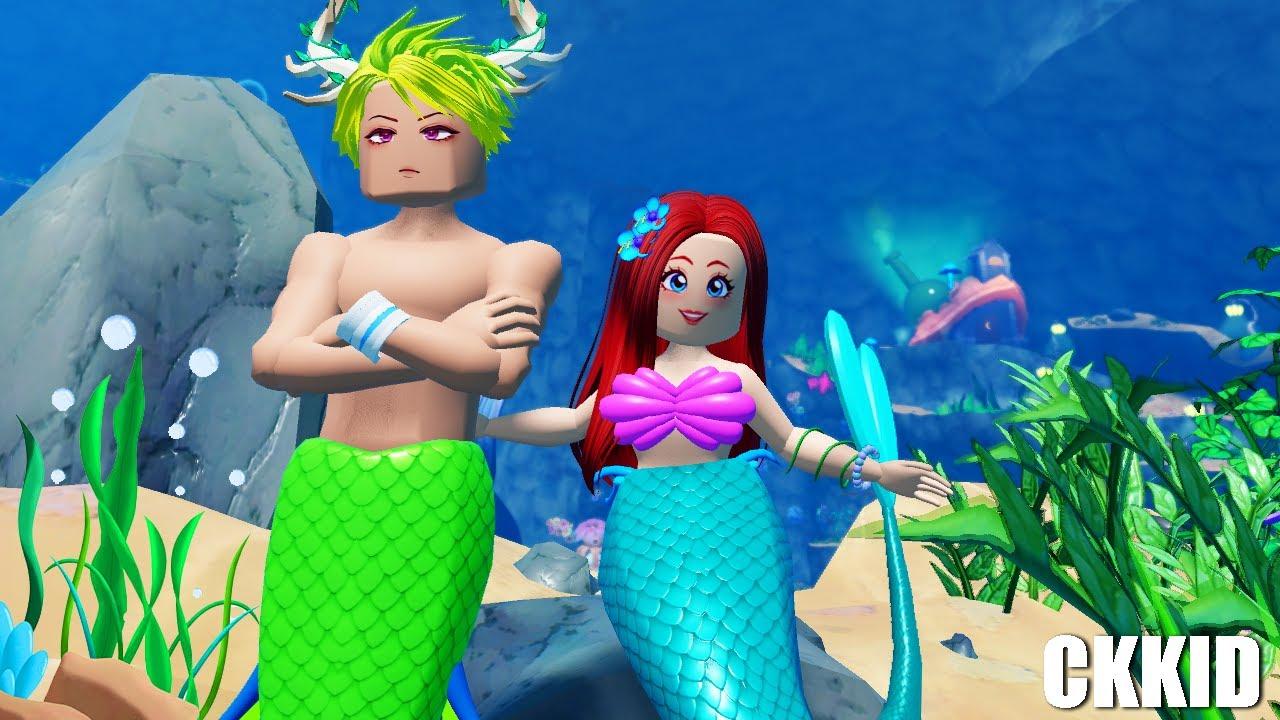 สำรวจดินแดนใต้สมุทร ✨  | Roblox Mermaid Life | CKKID
