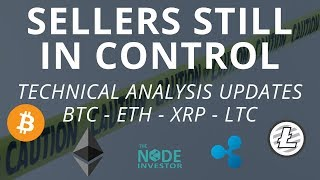 Bitcoin Price Fighting to Hold $3400.  Technical Analysis Updates for BTC ETH XRP LTC TUSD