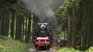 Volldampf auf der Brockenbahn | Bahnwanderung Schierke - Drei Annen Hohne