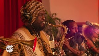 "Kamasi Washington performing ''Street Fighter Mas"" live on KCRW"