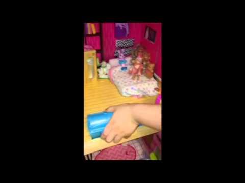 Mickiya's KidKraft Uptown Barbie House Tour