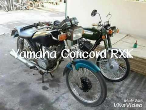 Yamaha Concord RXK 135 Befor & After