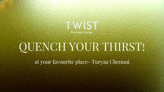 QUENCH YOUR THIRST- time for BEER! | TWIST-Beverage Lounge Bar | |(Hotel to stay in Chennai)