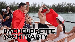 WARNING: This video contains people having fun.