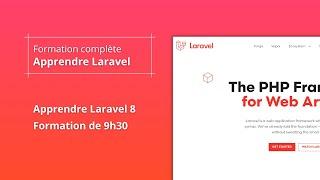 Miniature catégorie - Formation Complète Laravel 8 🚀