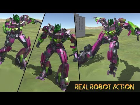 Real Robot War Steel (By Fantastic Action Games) Android Gameplay HD