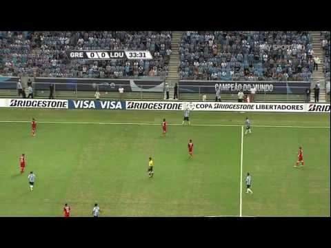 Gremio vs LDU Quito - Copa Libertadores 2013 - First Stage