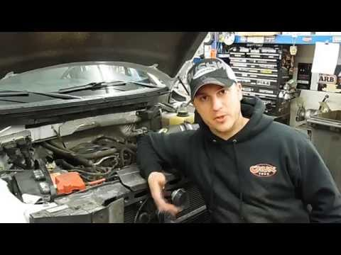 AIRAID Cold Air Intake Installation on 2011 F150 5.0L engine