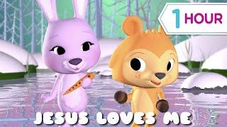 Jesus Loves Me + more Kids videos (1 hour)