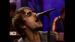 Oasis - Don't Go Away 1998 Live on Jay Leno Show.