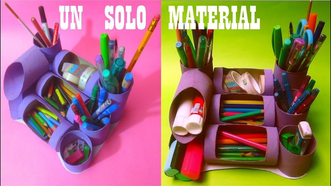 Organizador con un solo material rollo de papel - Organizador de papeles ...