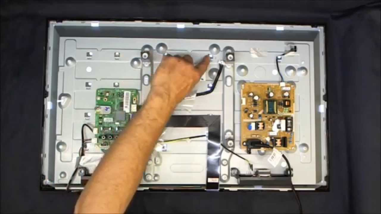 troubleshooting the samsung led tv model un32eh4003 [ 1280 x 720 Pixel ]