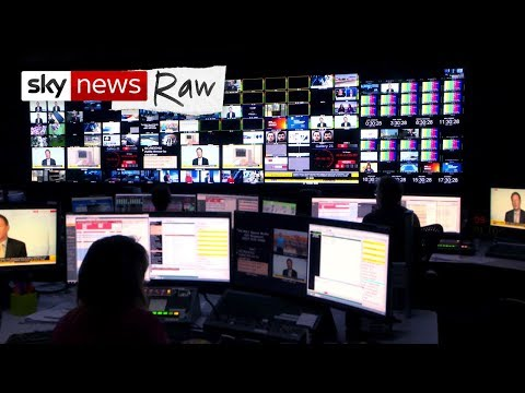Sky News Raw: Access behind the scenes