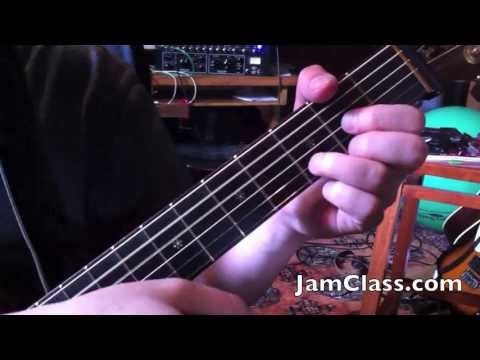 How to Play [Warren Zevon] Lawyers, Guns and Money - Intro in Standard Tuning