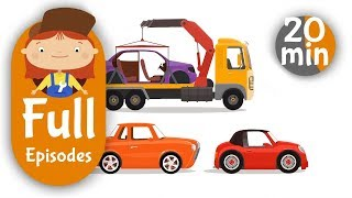 Doctor McWheelie & cars for kids. Baby cartoon.