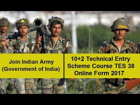 Indian Army 10+2 Tes 38 Online Form 2017 - Youtube