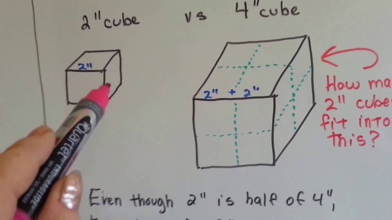Grade 5 Math #117, Find Volume With Cube Units