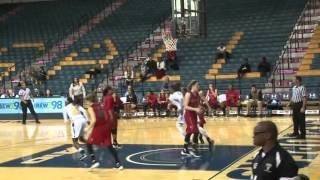Women's Basketball Falls to Davidson, 66-58