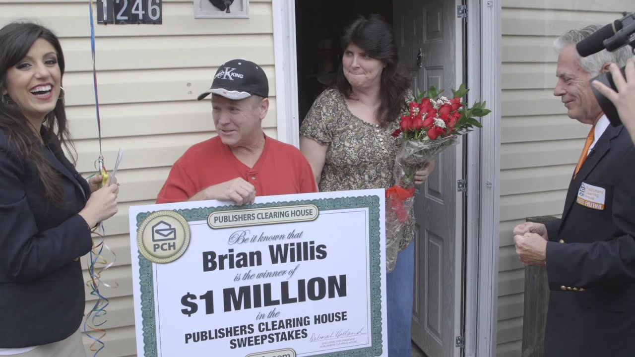 Publishers Clearing House Winners: Brian Willis From Lexington, South  Carolina Wins $1 Million