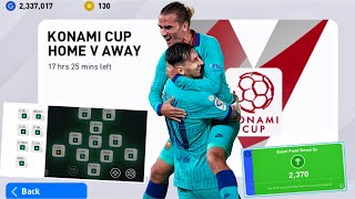 Road to Finish KONAMI CUP EVENT - Pes 2020 Mobile