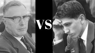 Bobby Fischer: Brief commentary #42 - Max Euwe vs Bobby Fischer - 1957 Exhibition Match