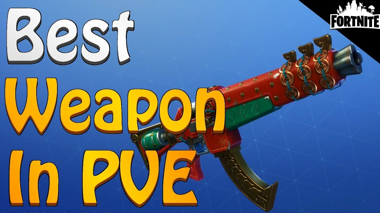 FORTNITE - Best Weapon In Fortnite Save The World PVE (Twine Peaks Gameplay)