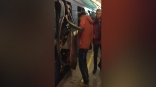 Кадри з метро Петербурга після вибуху