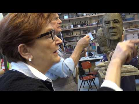 Felix van Breugel workshop 'portret boetseren'