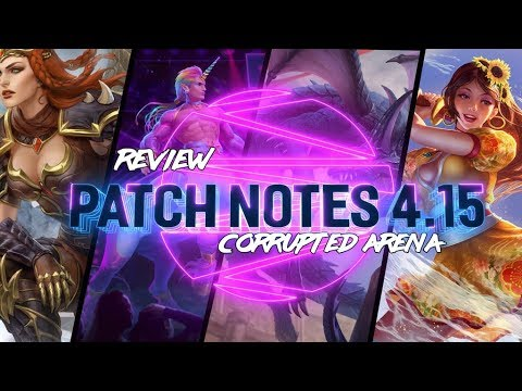 PATCH NOTES 4.15: FALLING TO DEATH IN ARENA AND FABULOUS SKINS! - Incon - Smite
