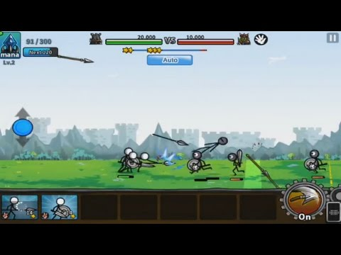 Cartoon Wars 3 (by Gamevil) - action game for android - gameplay.