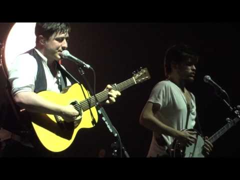 Mumford and Sons Hopeless Wanderer Live Montreal 2011 HD 1080P