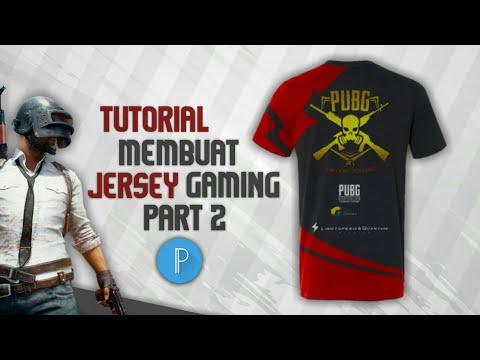 Tutorial membuat jersey gaming keren di PixelLab || TUTORIAL PIXELLAB || PART 2