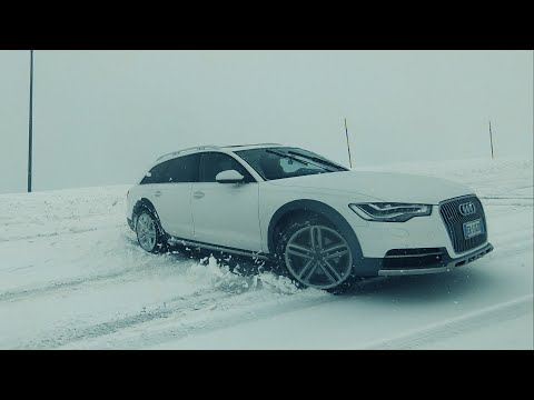 Audi A6 Allroad 3.0 TDI on the Snow - QUATTRO POWER