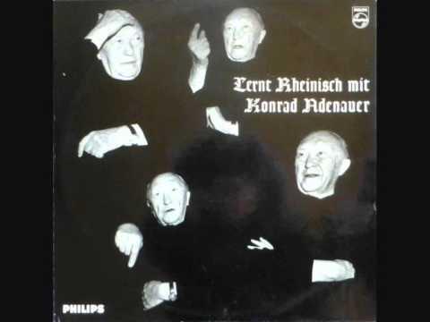 Lernt Rheinisch mit Konrad Adenauer (1963)